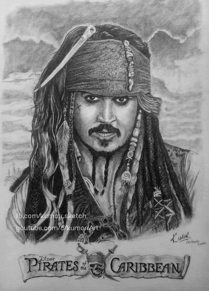 Johnny Depp por Kumarr